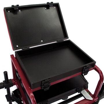 Angel DomäneSeatbox World Competition Sitzkiepe mit Fußplattform