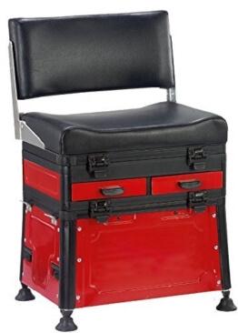 Behr Angeln Accessoires, Alu Sitzkiepe mit Rückenlehne, 60853 - 1