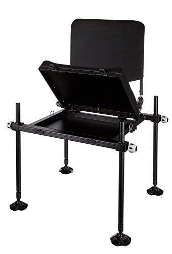 Feederstuhl Deluxe Feeder Seat Anglerstuhl mit Rückenlehne